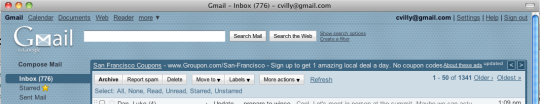 Headless GMail browser